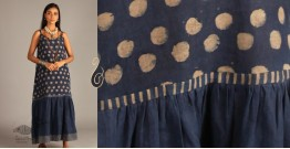 Indigo Collection | Linen maxi with block print  | 11