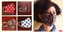 Block printed cotton Mask for everyday use