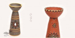 ज्योत | Jyot ☸ Decorative Clay Diya (S) ☸ 4
