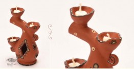 ज्योत | Jyot ☸ Decorative Clay Diya ☸ 5