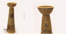 ज्योत   Jyot ☸ Decorative Clay Diya (T) ☸ 7