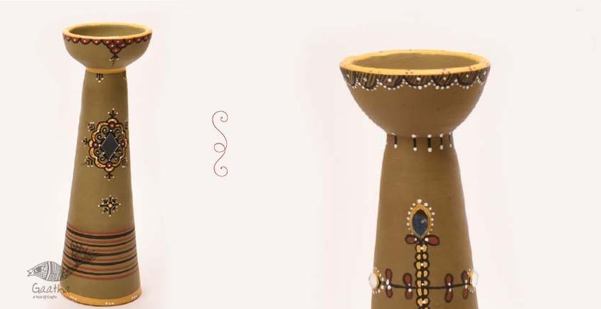ज्योत | Jyot ☸ Decorative Clay Diya (T) ☸ 7