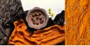 Flavors of fusion   Modal Silk Ajrakh Bandhani Dupatta ❀ 1