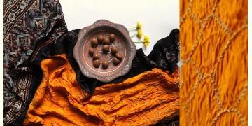 Flavors of fusion | Modal Silk Ajrakh Bandhani Dupatta ❀ 1