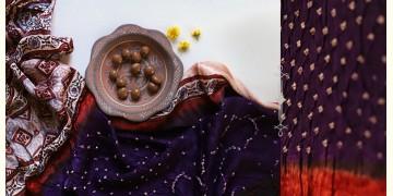 Flavors of fusion | Modal Silk Ajrakh Bandhani Dupatta ❀ 13