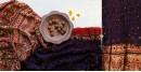 Flavors of fusion | Modal Silk Ajrakh Bandhani Dupatta ❀ 16
