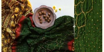 Flavors of fusion | Modal Silk Ajrakh Bandhani Dupatta ❀ 18