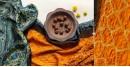Flavors of fusion   Modal Silk Ajrakh Bandhani Dupatta ❀ 2
