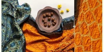 Flavors of fusion | Modal Silk Ajrakh Bandhani Dupatta ❀ 2