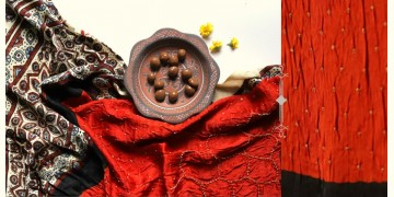 Flavors of fusion | Modal Silk Ajrakh Bandhani Dupatta ❀ 4