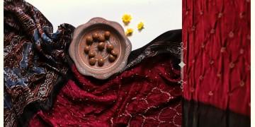 Flavors of fusion | Modal Silk Ajrakh Bandhani Dupatta ❀ 6