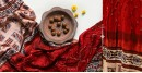 Flavors of fusion   Modal Silk Ajrakh Bandhani Dupatta ❀ 7