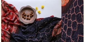 Flavors of fusion | Modal Silk Ajrakh Bandhani Dupatta ❀ 27