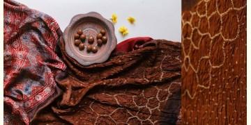 Flavors of fusion | Modal Silk Ajrakh Bandhani Dupatta ❀ 30