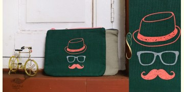 Bolsa ~ Canvas Handbags & Pouches { Set of Two } ~ 19