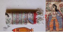 Madhubanu ❁ Tussar Silk Hand Painted Dupatta ❁ 3
