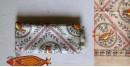 Madhubani ❁ Tussar Silk Hand Painted Dupatta ❁ 10