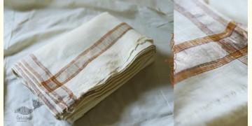 Organic Living ❇ Handwoven Matka Silk Dhoti-Khes set  ~ D