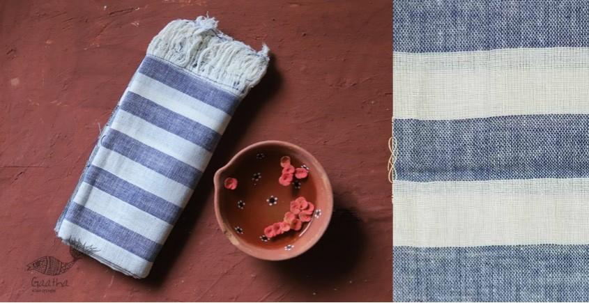 Advik ◉ Handwoven ◉ Cotton Organic Doria Stole◉ 5