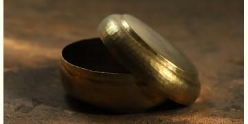 "Brass Dabba (6"" X  6"" x 3"")"