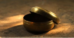 Brass Dabba ( 12cm X 7cm )