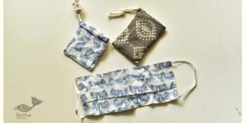 Be safe & stylish ✜ Cotton Two Layered Mask ( Set of 2 ) ✜ 9