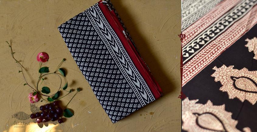 बूटी ✹ Sanganeri Block Printed Saree  (Mul cotton) ✹ 6