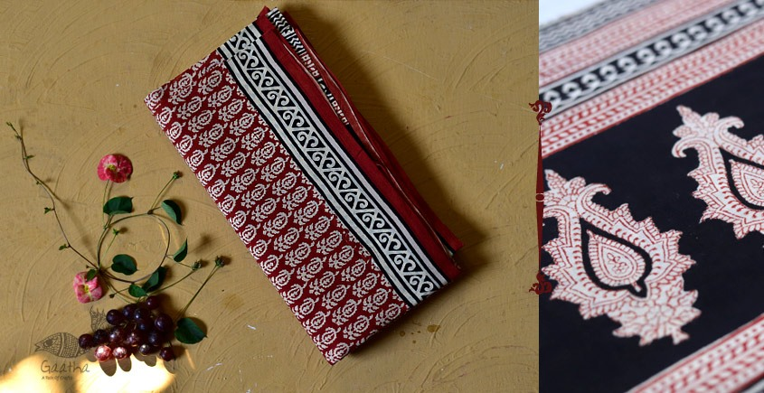 बूटी ✹ Sanganeri Block Printed Saree  (Mul cotton) ✹ 5