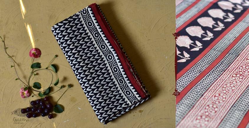 बूटी ✹ Sanganeri Block Printed Saree  (Mul cotton) ✹ 10