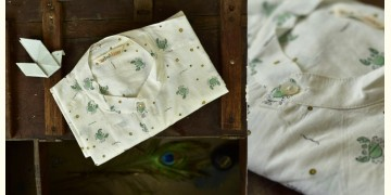 Sing of Spring ✯ Sanganeri ✯ Cotton Full Shirt ✯ 14