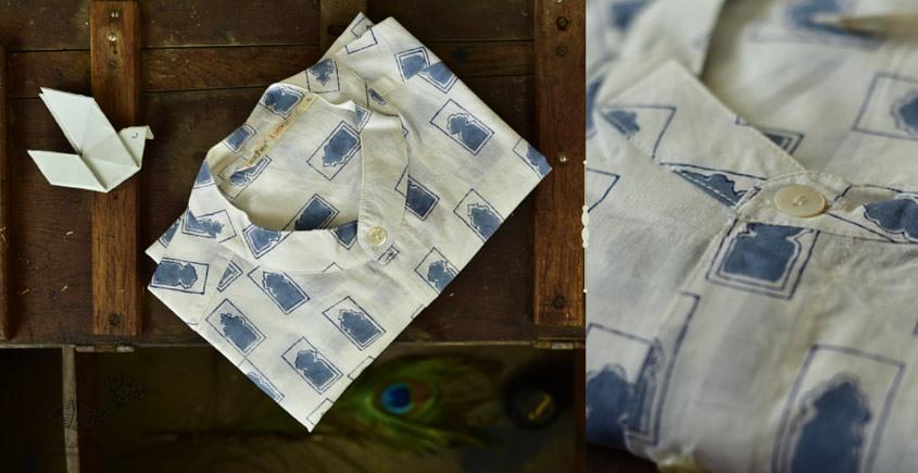 Sing of Spring ✯ Sanganeri ✯ Cotton Full Shirt ✯ 1