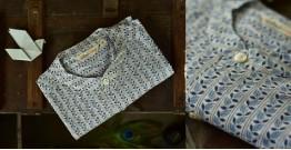 Sing of Spring ✯ Sanganeri ✯ Cotton Full Sleeve Shirt ✯ 8