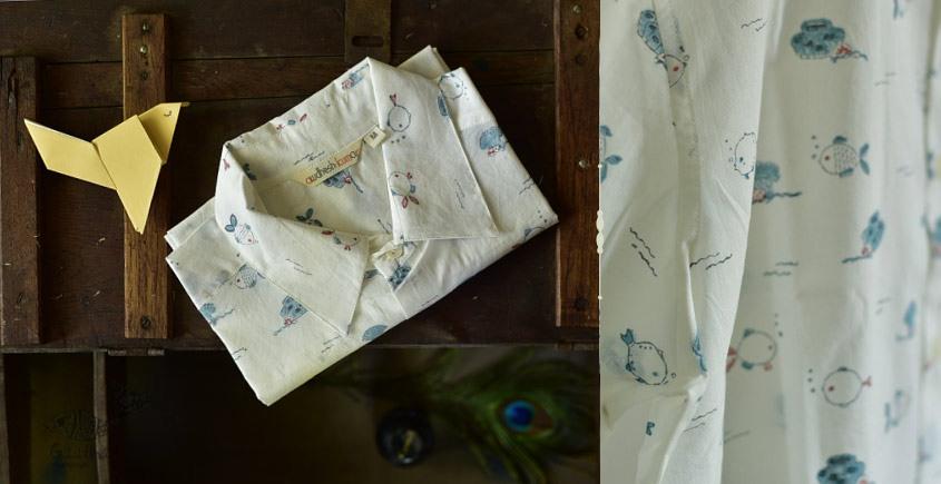 Sing of Spring ✯ Sanganeri ✯ Cotton Half Sleeve Shirt ✯ 20