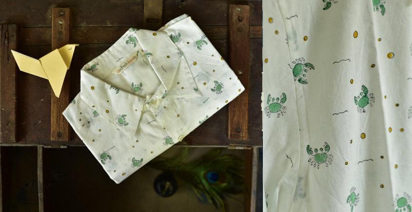 Sing of Spring ✯ Sanganeri ✯ Cotton Half Sleeve Shirt ✯ 29