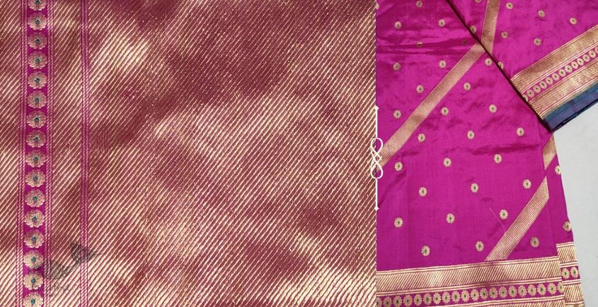 Jaanki . जानकी ✽ Handwoven Banarasi Silk Saree ✽ 19
