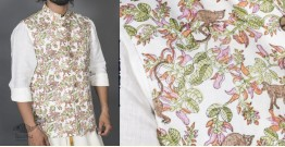 Bandar Palash ● Linen Block Printed Jacket ● 10