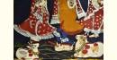 shop Vintage indian Krishna Painting
