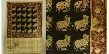 A date with Destiny ✲ Vintage Calendar ✲ Gopasthami Pichwai |1999