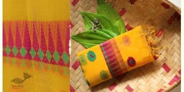 Anagi ☘ Handwoven Assamese Kesa-Pat Silk Stole ☘ 13