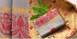 Anagi ☘ Handwoven Assamese Cotton Stole ☘ 5