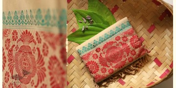 Anagi ☘ Handwoven Assamese Cotton Stole ☘ 6