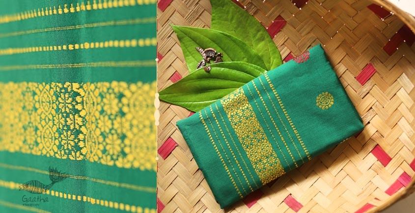 Anagi ☘ Handwoven Assamese Cotton Stole ☘ 9