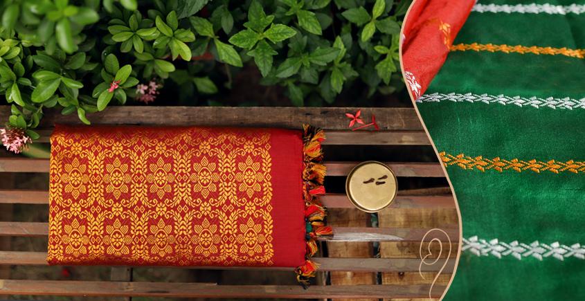 Saalmi ❋ Assamese Silk Saree ❋ 3