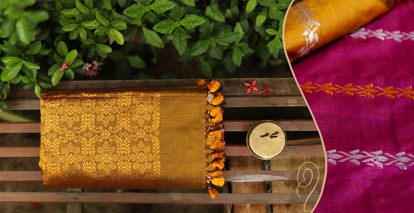 Saalmi ❋ Assamese Silk Saree ❋ 4
