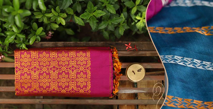 Saalmi ❋ Assamese Silk Saree ❋ 6