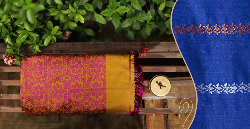 Saalmi ❋ Assamese Silk Saree ❋ 7