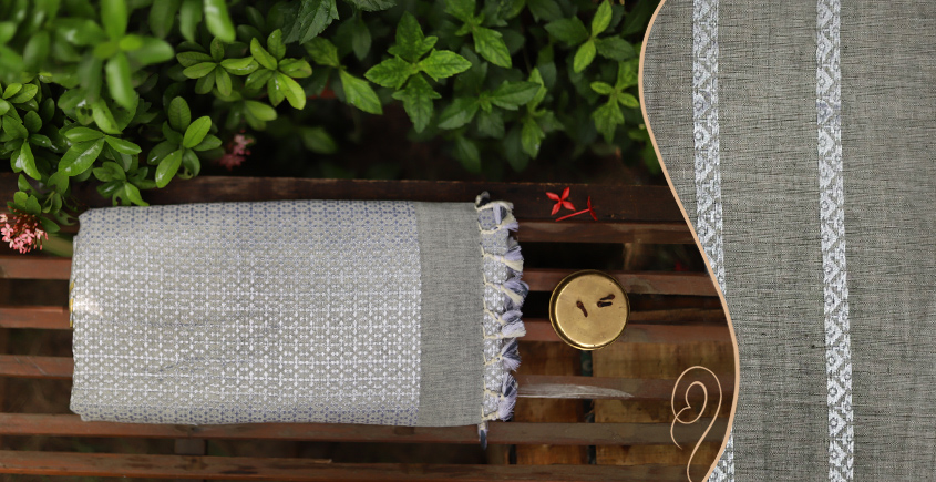 Saalmi ❋ Assamese Cotton Saree ❋ 19