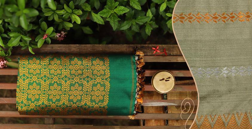 Saalmi ❋ Assamese Silk Saree ❋ 9