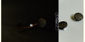 Bidri ♣ Inlay Kurta Buttons - Set of Four (Four Options) ♣ 39