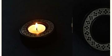Bidri ✡ Round T light wire design assorted ✡ 25